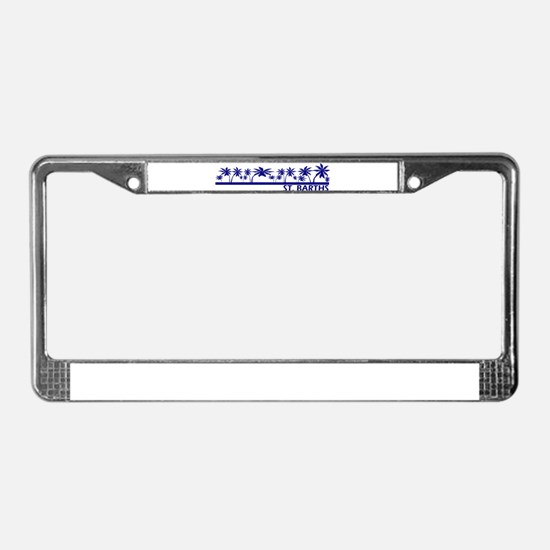 St. Barths License Plate Frame