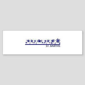 St. Barths Bumper Sticker