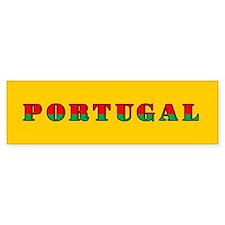 Portuguese Flag of Portugal Bumper Sticker