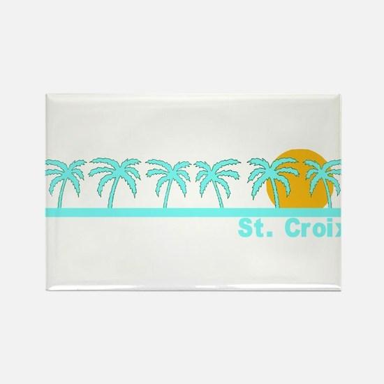 St. Croix, USVI Rectangle Magnet