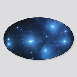 Sweet OM Pleiades pillowcase Sticker (Oval)