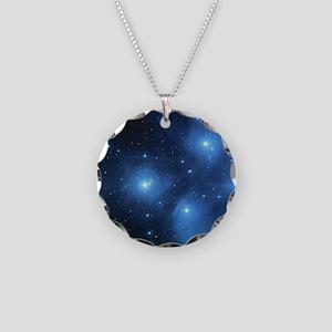 Sweet OM Pleiades pillowcase Necklace Circle Charm