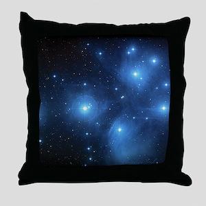 Sweet OM Pleiades pillowcase Throw Pillow