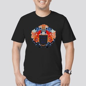 Royal Guard Dog (Drago Men's Fitted T-Shirt (dark)