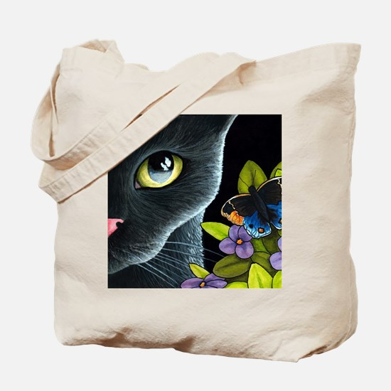 Cat 557 Tote Bag