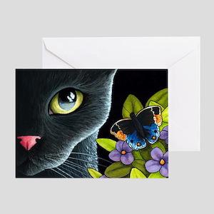 Cat 557 Greeting Card