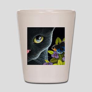 Cat 557 Shot Glass