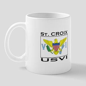 St. Croix, USVI Flag Mug