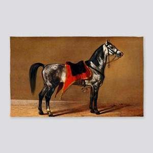 Dappled Horse 3'x5' Area Rug