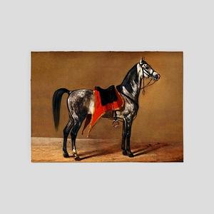 Dappled Horse 5'x7'Area Rug