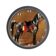 Dappled Horse Wall Clock