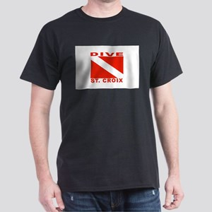 Dive St. Croix, USVI Dark T-Shirt