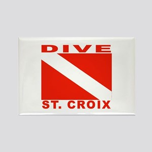 Dive St. Croix, USVI Rectangle Magnet