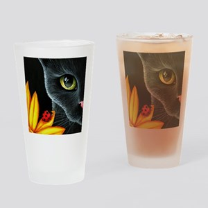 Cat 510 Drinking Glass