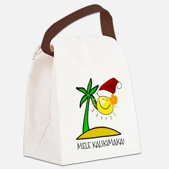 Hawaiian Christmas - Mele Kalikimaka Canvas Lunch