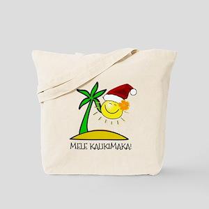 Hawaiian Christmas - Mele Kalikimaka Tote Bag