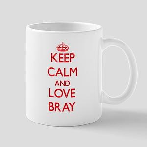 Keep calm and love Bray Mugs