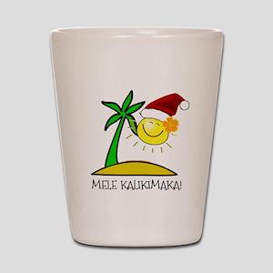 Hawaiian Christmas - Mele Kalikimaka Shot Glass