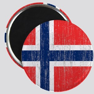 Vintage Norway Flag King Duvet Magnet