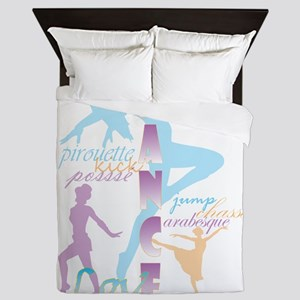 Dream Dance Love Queen Duvet