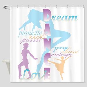 Dream Dance Love Shower Curtain