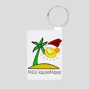 Hawaiian Christmas - Mele Kalikimaka Keychains