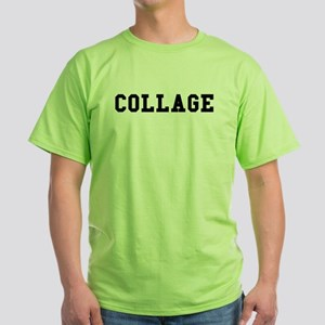 Collage Green T-Shirt