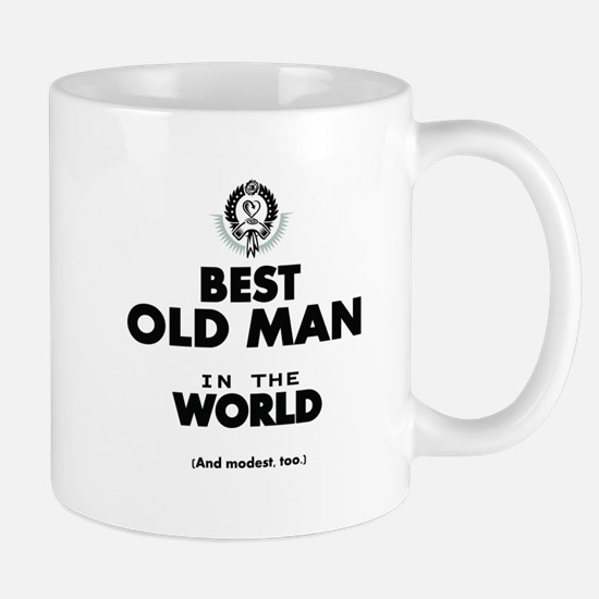 The Best in the World Old Man Mugs