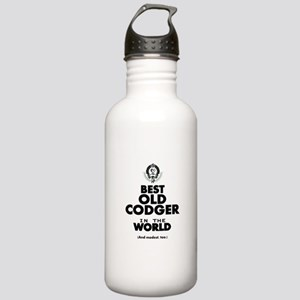 The Best in the World Old Codger Water Bottle
