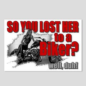 bikerlost Postcards (Package of 8)