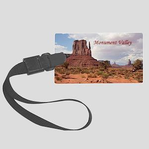 Monument Valley, Utah, USA 2 (ca Large Luggage Tag