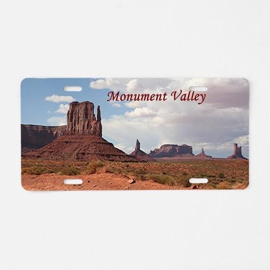 Monument Valley, Utah, USA  Aluminum License Plate