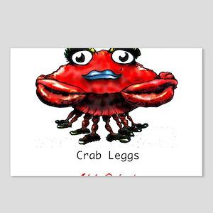 Crab Leggs Postcards (Package of 8)
