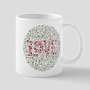 Colorblind Love 11 oz Ceramic Mug