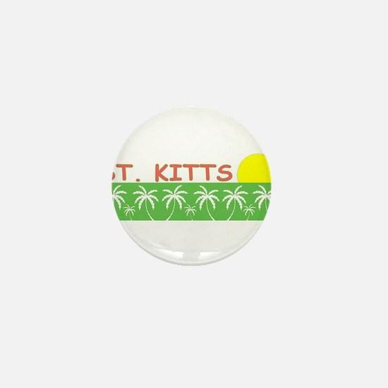 St. Kitts Mini Button