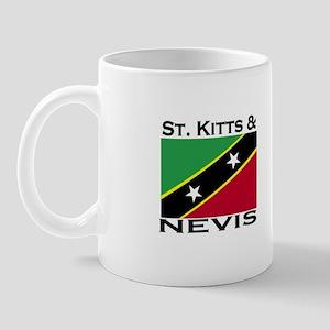 St. Kitts & Nevis Flag Mug
