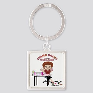 Creative Moment Square Keychain