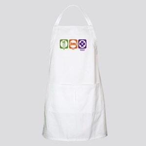Eat Sleep Veterinary Medicine BBQ Apron