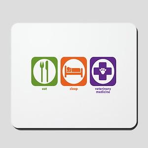 Eat Sleep Veterinary Medicine Mousepad