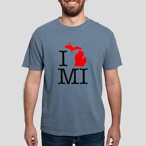 I Love MI Michigan T-Shirt
