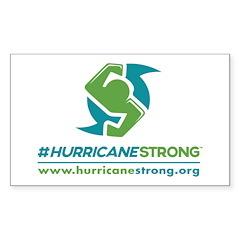 Hurricanestrong 3 X 5 Sticker (10 Pack)