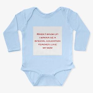 Special Education Teacher Infant Bodysuit Body Sui