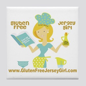 GF jersey Girl Tile Coaster