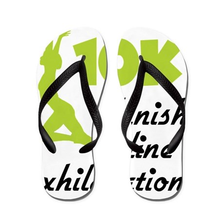 83f78d20215 10K Green Finish Line Flip Flops by Admin CP1147651