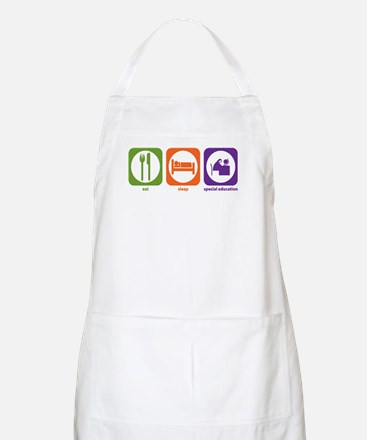 Eat Sleep Special Education BBQ Apron