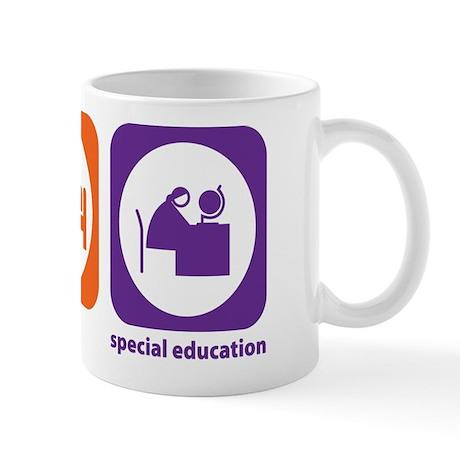 Eat Sleep Special Education Mug