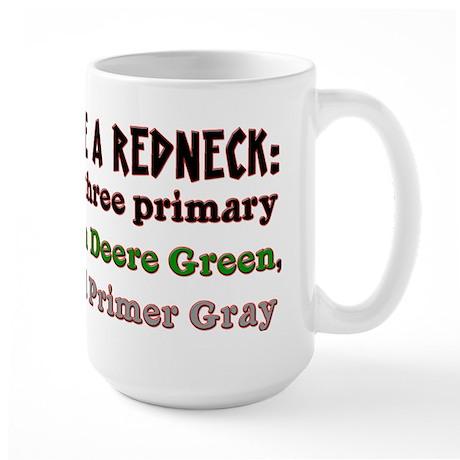 Redneck Colors Large Mug
