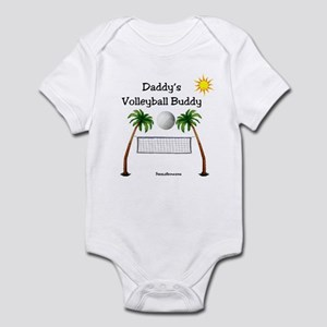Daddy's Volleyball Buddy Infant Bodysuit