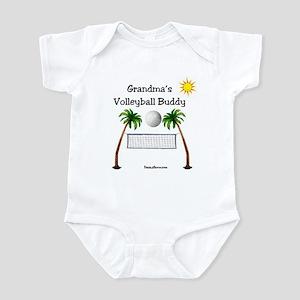 Grandma's Volleyball Buddy Infant Bodysuit