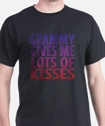 Grammy Gives Me Lots Of Kisses T-Shirt